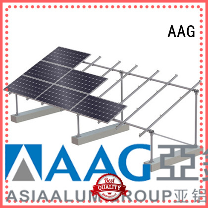 AAG flexible roof solar mounting manufacturer for solar power system